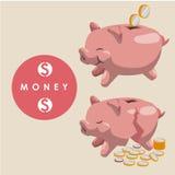 Χρήματα και επένδυση Στοκ φωτογραφία με δικαίωμα ελεύθερης χρήσης