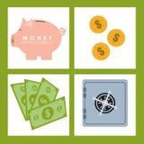 Χρήματα και επένδυση Στοκ φωτογραφίες με δικαίωμα ελεύθερης χρήσης
