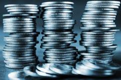 Χρήματα και τραπεζικές εργασίες αποταμίευσης για την έννοια χρηματοδότησης Στοκ εικόνα με δικαίωμα ελεύθερης χρήσης