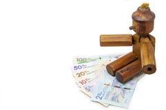 Χρήματα και ψέματα Στοκ εικόνα με δικαίωμα ελεύθερης χρήσης