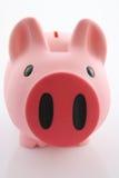 χρήματα κιβωτίων τραπεζών piggy Στοκ εικόνα με δικαίωμα ελεύθερης χρήσης