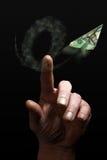χρήματα μάρκετινγκ χρηματ&omicron Στοκ Εικόνες