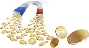 χρήματα μαγνητών Διανυσματική απεικόνιση