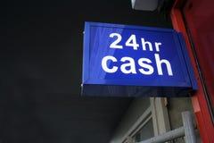 χρήματα μηχανών σημείων ανάλη& Στοκ φωτογραφία με δικαίωμα ελεύθερης χρήσης