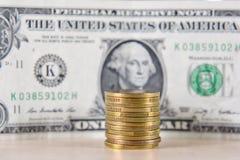 Χρήματα, νομίσματα, ανταλλαγή στοκ φωτογραφία