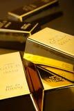 Χρήματα, νομίσματα και χρυσή, περιβαλλοντική οικονομική έννοια Στοκ Εικόνες