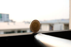 Χρήματα νομισμάτων Στοκ Φωτογραφίες