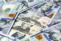 Χρήματα λογαριασμών δολαρίων Στοκ εικόνες με δικαίωμα ελεύθερης χρήσης