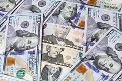 Χρήματα λογαριασμών δολαρίων Στοκ φωτογραφία με δικαίωμα ελεύθερης χρήσης