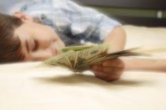 χρήματα ονείρου Στοκ φωτογραφία με δικαίωμα ελεύθερης χρήσης