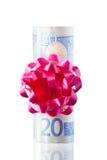 χρήματα παρόντα Στοκ Φωτογραφίες