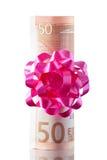 χρήματα παρόντα Στοκ Εικόνα