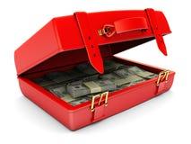 χρήματα περίπτωσης απεικόνιση αποθεμάτων