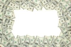 χρήματα πλαισίων Στοκ Εικόνες