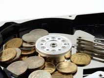 χρήματα πληροφοριών Στοκ Εικόνα