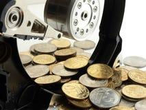 χρήματα πληροφοριών Στοκ Εικόνες