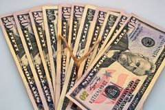 χρήματα που διαδίδονται στοκ φωτογραφίες με δικαίωμα ελεύθερης χρήσης