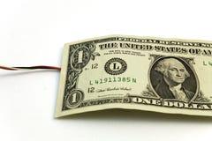 χρήματα που συνδέονται μ&epsilon στοκ εικόνα