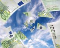 χρήματα ροής Στοκ φωτογραφία με δικαίωμα ελεύθερης χρήσης