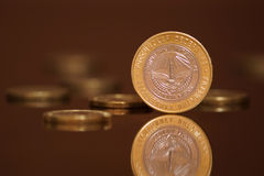 χρήματα ρωσικά μετρητών επετείου Στοκ Εικόνες