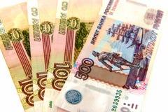 χρήματα ρωσικά μετρητών επετείου Στοκ Φωτογραφίες