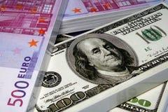 χρήματα σοκολάτας Στοκ Φωτογραφίες