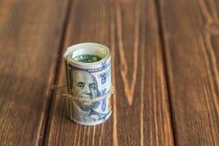 Χρήματα στο γραφείο Στοκ Φωτογραφία