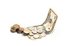 Χρήματα στο δολάριο Στοκ φωτογραφίες με δικαίωμα ελεύθερης χρήσης