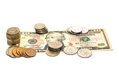 Χρήματα στο δολάριο Στοκ Εικόνα