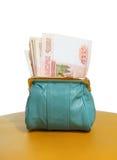 Χρήματα στο πορτοφόλι σας Στοκ Φωτογραφίες