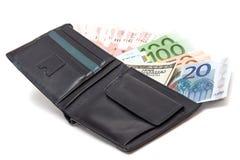 Χρήματα στο φάκελο Στοκ Φωτογραφία