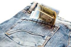 Χρήματα στο φάκελο Στοκ Φωτογραφίες