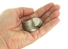 Χρήματα στο φοίνικα των ατόμων Στοκ φωτογραφία με δικαίωμα ελεύθερης χρήσης