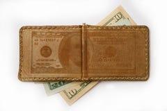χρήματα συνδετήρων Στοκ Φωτογραφία