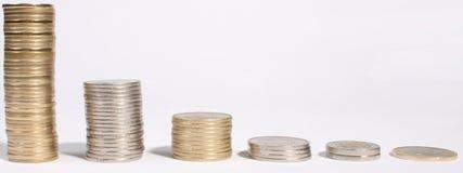 χρήματα σωρών Στοκ φωτογραφία με δικαίωμα ελεύθερης χρήσης