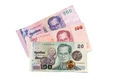 χρήματα Ταϊλάνδη Στοκ φωτογραφίες με δικαίωμα ελεύθερης χρήσης