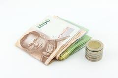 Χρήματα Ταϊλάνδη Στοκ φωτογραφία με δικαίωμα ελεύθερης χρήσης
