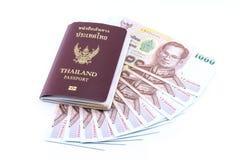 χρήματα Ταϊλανδός Στοκ Φωτογραφίες