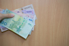 χρήματα Ταϊλανδός Στοκ φωτογραφία με δικαίωμα ελεύθερης χρήσης