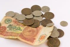 χρήματα τα παλαιά ρωσικά Στοκ Φωτογραφία