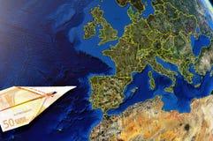 χρήματα της Ευρώπης στοκ εικόνες