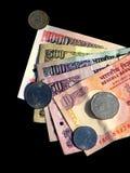 χρήματα της Ινδίας στοκ φωτογραφία με δικαίωμα ελεύθερης χρήσης