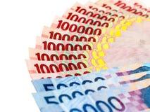 Χρήματα της ινδονησιακής ρουπίας Στοκ Εικόνες