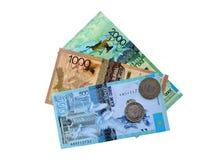 χρήματα του Καζακστάν στοκ εικόνες