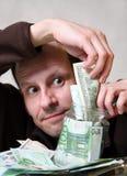 χρήματα τραπεζών Στοκ Φωτογραφίες