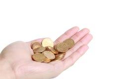 Χρήματα υπό εξέταση Στοκ εικόνα με δικαίωμα ελεύθερης χρήσης