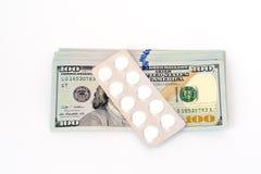 χρήματα φαρμάκων από κοινού Στοκ εικόνες με δικαίωμα ελεύθερης χρήσης