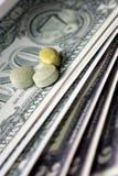 Χρήματα φαρμάκων Στοκ Φωτογραφία