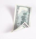 χρήματα 100 δολαρίων Στοκ Εικόνα