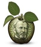 Χρήματα Apple Στοκ Φωτογραφία